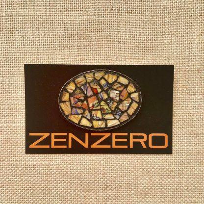 Zenzero Brooch